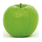 vihreä omena ilman taustaa